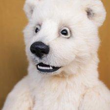 Нолан полярный медвежонок. Авторские игрушки ручной работы Татьяны Матляк