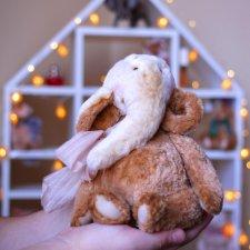 Слон пончик. Авторская игрушка ручной работы Татьяны Матляк