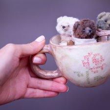 Чашечку медвежат не желаете? Мишки тедди