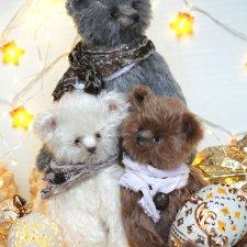 Рождественские медведи Татьяны Матляк