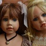 Сестрички Мери-Кейт и Джоэлла и их мишки. Автор Rose Mary Strydom