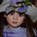 Милые кокетки и роковые дамы от Жан Макклин, Jan Mclean dolls. Новая премьера - девочка Руби и её кукла Сьюзи
