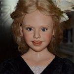Мерлин Болден и её кукла Fawn. Marilyn Bolden doll