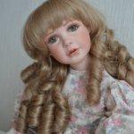 Фарфоровая куколка. Молд Jane Zidjuans