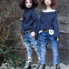 Преордер с 7 по 14 ноября, мальчики 29, девочки 25 см, полиуретан, ограниченный тираж