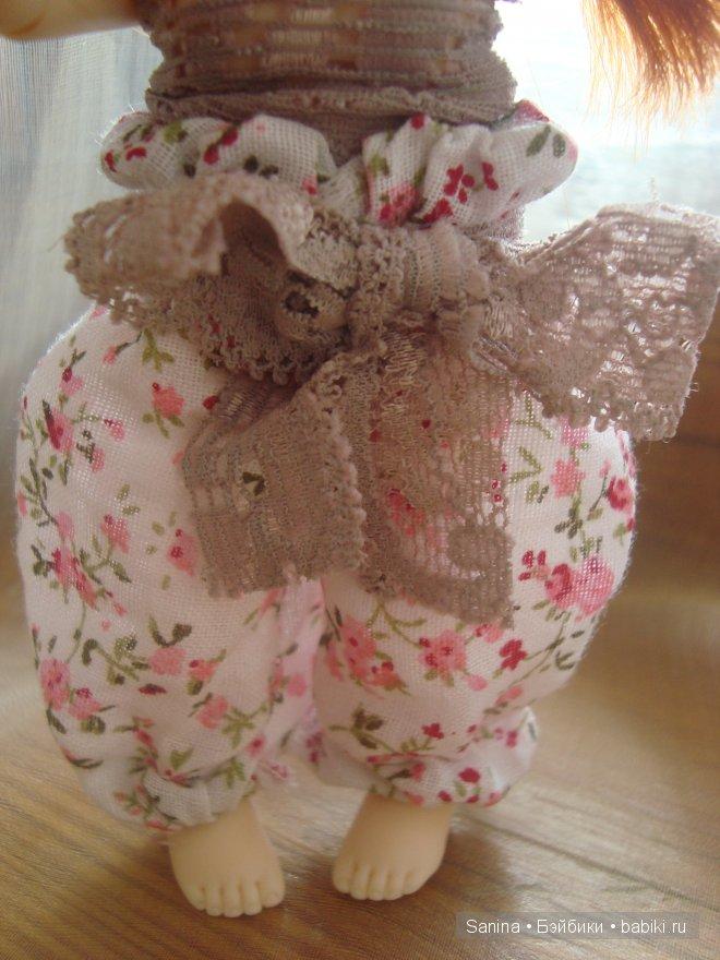 Мастер-класс Шьем шаровары для куклы BJD
