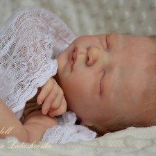 Спящее облачко крошка реборн Denver Rose