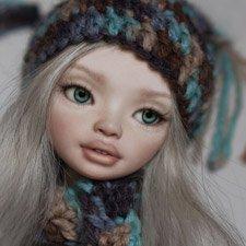 "Шарнирная авторская кукла ""Mery"" (20см), от KKeRRin-Dolls"