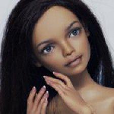 """Шарнирная авторская кукла """"Алиса"""" (27см, сменные глазки, ПУ), от KKeRRinDolls"""
