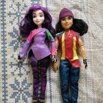 Продаются куклы наследники Мэл и Джей