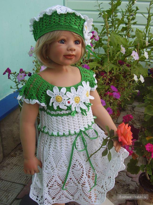 """Платье и берет """"Лето"""""""