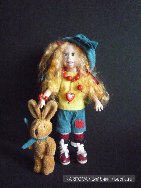 Авторская кукла Елены Карповой