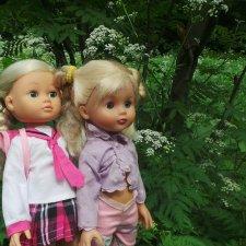 Интересные куколки и прогулка в парке