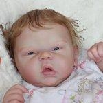Маленькая булочка Яночка,кукла реборн Беспаловои Жанны
