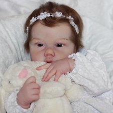 Моя кареглазая Пени, кукла реборн Беспаловои Жанны