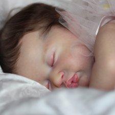 Маленькая принцесса Ками-Рози, кукла реборн Беспаловой Жанны