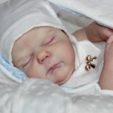 Мои маленькии ангел Эсмае, кукла реборн Беспаловои Жанны