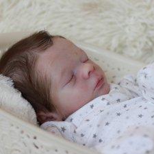 Realborn® Leif Sleeping TWIN, кукла реборн Беспаловои Жанны