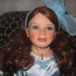 Мои постновогодние подарки - фарфоровая кукла Marleine Ruby Doll Collection