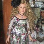 Субботний день или платье для большой фарфоровой куклы. Луиза от Дамри Бенингховен (Damrie Benninghoven)