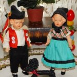 Продаётся девочка-немецкая,антикварная,керамическая куколка ECW-E.Christian Wittig.Состояние люкс!