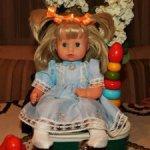 Чудесная и нежная ,винтажная куколка-малышка Gotz (Германия) в новом состоянии.