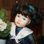 Реплика антикварной куклы  Kämmerer & Reinhard (114). Доставка включена.