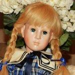 Прекрасная,немецкая кукла из коллекции Wernicke (Биггидур) ,редкий молд. 1987 год.С доставкой.