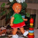 Чудесная,винтажная ,Чехословацкая куколка ,полностью резиновая.Доставка. Отличное состояние!