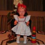 Антикварная ,немецкая Черепашечка Schildkröt из целлулоида.Кукла нач. 50-х годов.Доставка.