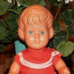 Редкая кукла 60-го года с поворотными кистями Wildebras Голландия.Состояние! Доставка.