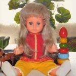 Редчайшая ,старинная,немецкая кукла от Ernst Wehncke, Hamburg (WW). 60-е годы. С доставкой.