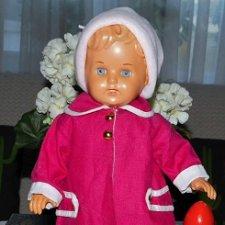 Довольно редкая,антикварная,целлулоидная  куколка Juwel -немецкой компании Schildkroet .50-е годы