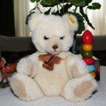 Коллекционный ,очаровательный,винтажный  Миша. Steiff  Petsy Teddy Bear. С кнопкой в ухе. Доставка.
