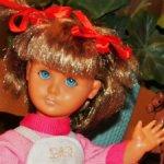 Винтажная,60-х годов,французская кукла Bella со следящим взглядом. Редкая.