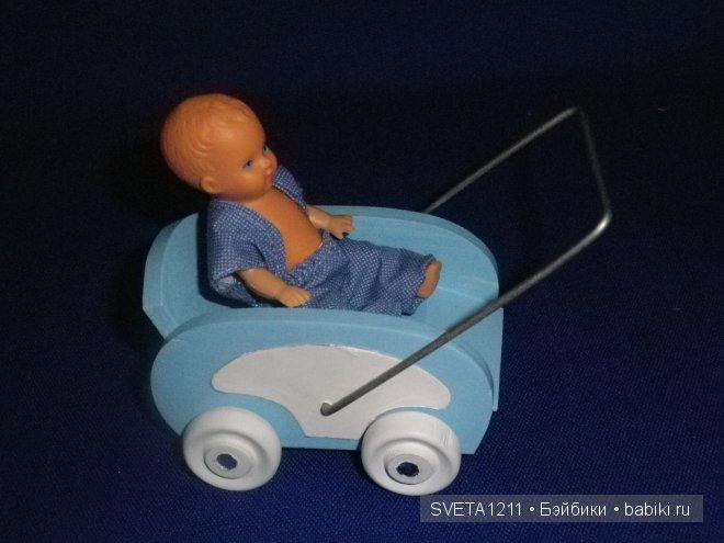 коляска, кукла, пупсик, ссср, гдр