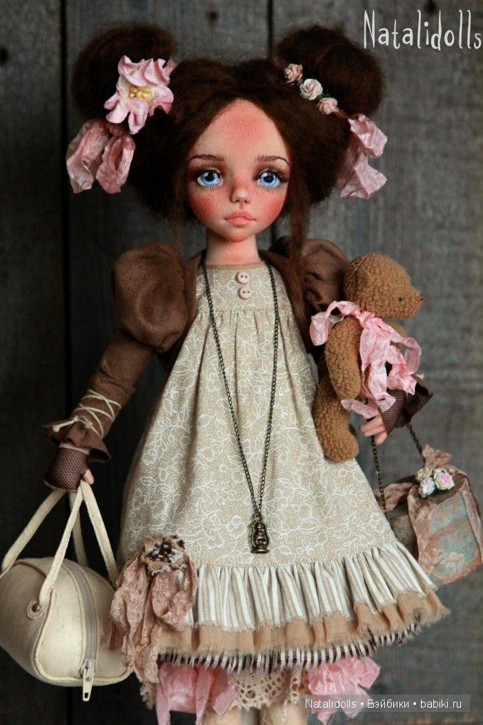 Текстильная кукла изготовление своими руками 406