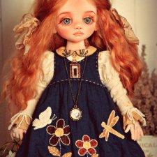 Текстильные куклы Подкидышевой Натальи