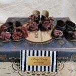 Туфли для антикварных кукол и реплик