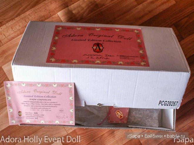 Adora Holly Event doll 20'' PCG20267 (red/green) LTD933 2004