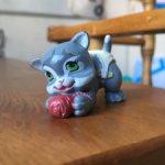 Galoob Magic Diaper Babies Cat котенок в подгузнике галооб 1992