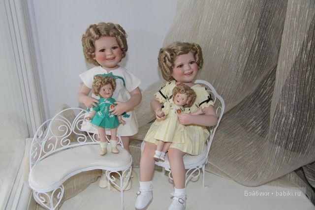 Ширли Темпл в  с куклой, пара