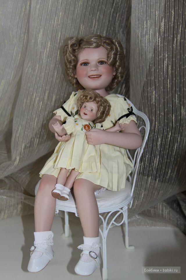 Ширли Темпл со своей куколкой