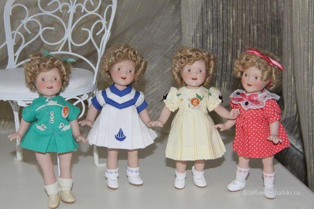 Ширли Темпл куколки кукол