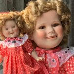 Ширли Темпл - красный горошек (Shirley Temple)