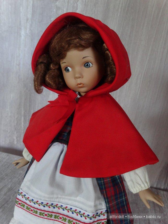 Купить фарфоровую куклу красная шапочка
