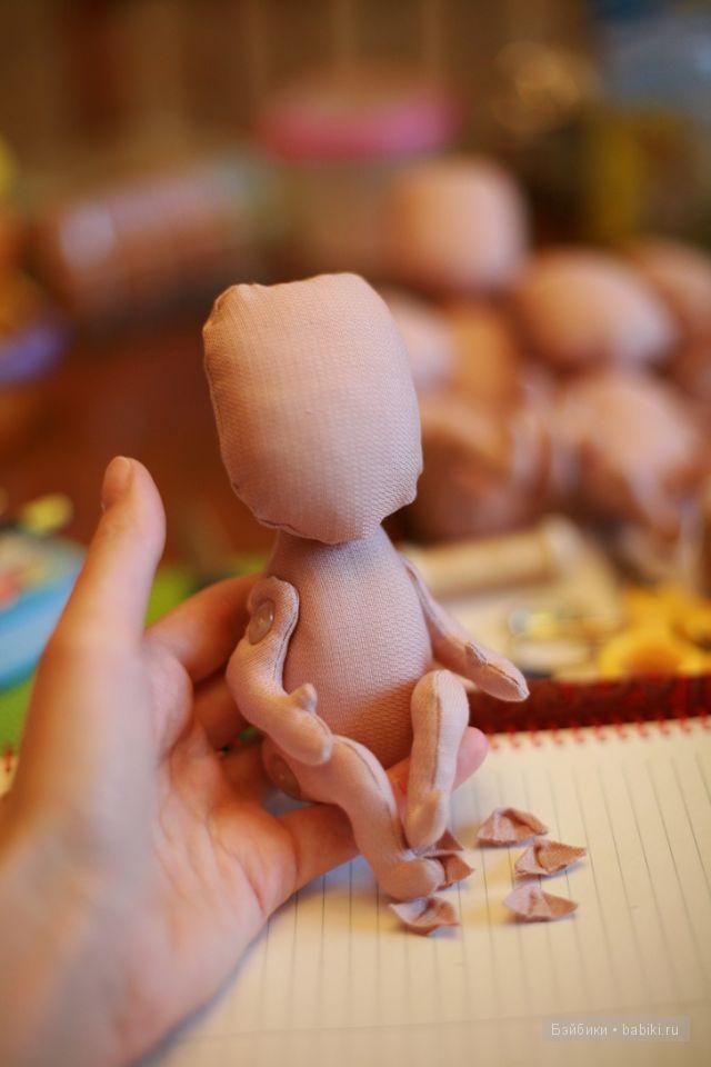 Мастер класс, ушки текстильным куклам, Bronetemkina