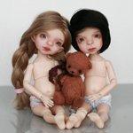 Предзаказ на Доминика от F&B doll Studio открыт. Шарнирные авторские куклы