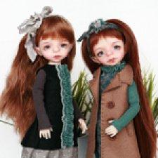 Предзаказ на шарнирных кукол Фокси и Кристи от  F&B doll studio открыт
