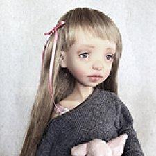 Авторская шарнирная кукла Эми от f&b doll studio